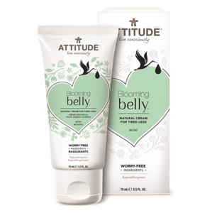 Attitude Přírodní krém na unavené nohy ATTITUDEBlooming Belly nejen pro těhotné s mátou 75 ml