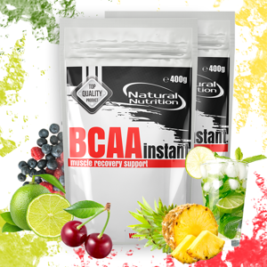 BCAA Instant 400g Mixed Berry and Lime 400g Mixed Berry and Lime