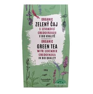BIO Levandule Chodouňská BIO Zelený sypaný čaj Chun Mee s Levandulí Chodouňskou 30 g