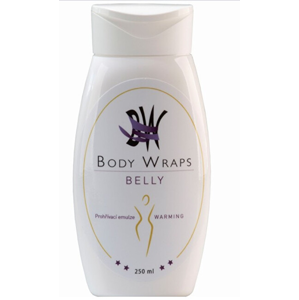 Body Wraps s.r.o. BW Belly Prohřívací emulze 250 ml