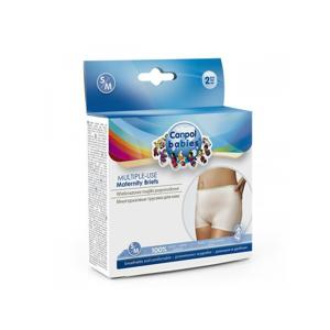 CANPOL BABIES Multifunkční mateřské kalhotky 2 ks S/M