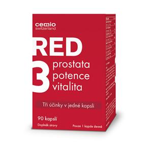 Cemio Cemio RED3 90 kapslí - SLEVA - pomačkaná krabička