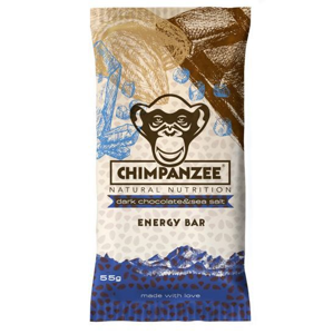 Chimpanzee Energy Bar Dark Chocolate - Sea Salt 55 g