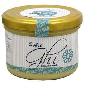 Chlorella Centrum Ghí - přepuštěné máslo 450 ml - SLEVA - poškozené víčko, poškozená etiketa