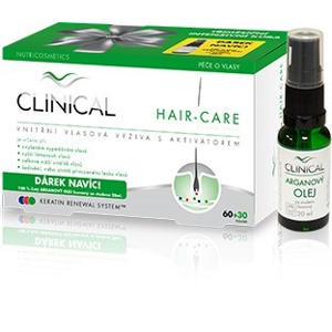 Clinical Clinical Hair-care 90 tobolek + Arganový olej ZDARMA