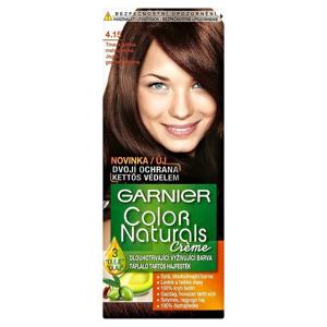 Color Naturals Garnier Crème dlouhotrvající vyživující barva tmavá ledová mahagonová 4.15