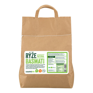 Country Life Rýže basmati natural BIO 5 kg