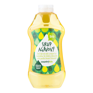 Country Life Sirup agávový BIO 874 ml