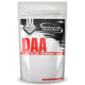 DAA - D-Aspartic Acid Natural 400g Natural 400g