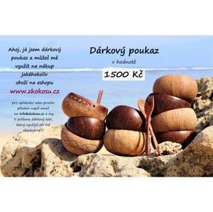Dárkový poukaz v HODNOTĚ 1500kč