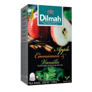 Dilmah Čaj černý Jablko Skořice Vanilka 20 ks