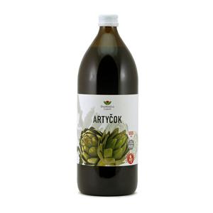EkoMedica Czech Artyčok – 99,8 % šťáva z artyčoku 1000 ml