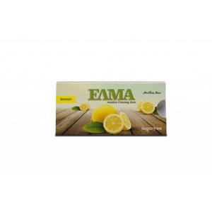 ELMA mastichové žvýkačky máta, dražé 10 ks Příchuť: Citron