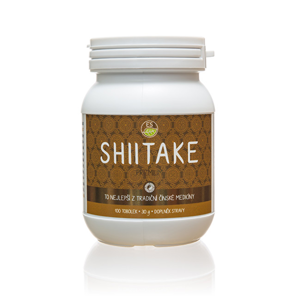 Empower Supplements Shiitake PREMIUM 100 kapslí