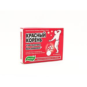 Evalar - Červený kořen kopyšníku (Hedysarum) pro plnohodnotný sexuální život; uvolňuje močové cesty - 60 tablet