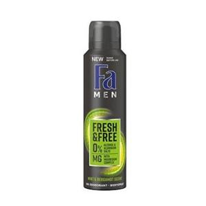Fa Men Fresh & Free Mint & Bergamot deodorant, 150 ml
