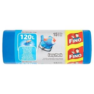 Fino Easy pack odpadkové pytle, 120 l 15 ks