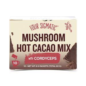Four Sigmatic Kakao s cordycepsem a zázvorem 10 sáčků
