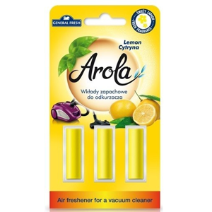 General Fresh AROLA vůně do vysavače Citron 3 ks