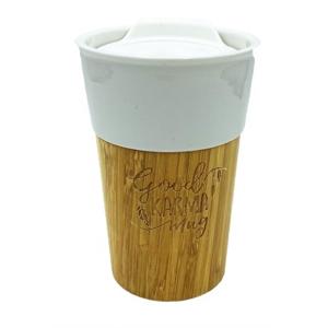 Goodie Bambusový hrnek - Good karma mug 330 ml