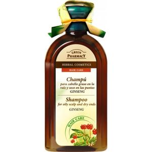 Green Pharmacy Ženšen šampon pro mastící se vlasy 350 ml