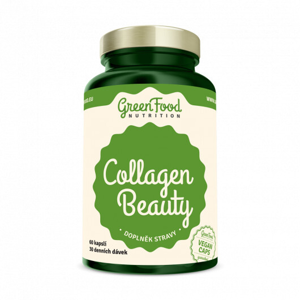 GreenFood Nutrition GF Collagen Beauty 60 kapslí