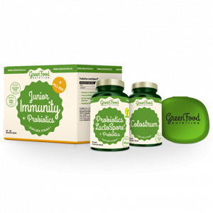 GreenFood Nutrition Junior Immunity & Prebiotics + PillBox 100 g