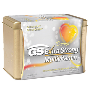 GreenSwan Extra Strong Multivitamin 50+, 120 tablet v plechové krabičce