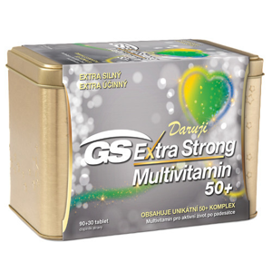 GreenSwan GS Extra Strong Multivitamin 120 tablet v plechové krabičce