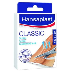 Hansaplast Textilní náplast Classic 1 m x 6 cm