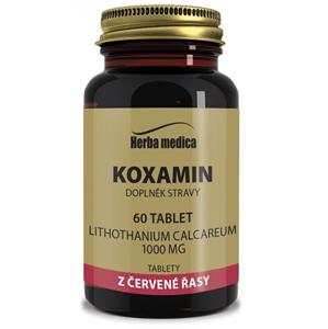 HerbaMedica Koxamin  62g - kosti klouby, přírodní vápník 100 tablet