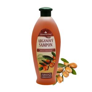 HERBAVERA Argan obnovující šampon s keratinem 550 ml