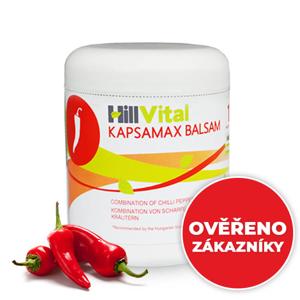 HillVital | Kapsaicinová mast na fibromyalgii - Kapsamax balzám 250 ml