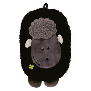 Hugo-Frosch Dětský termofor Eco Junior Comfort s motivem ovečky - černá
