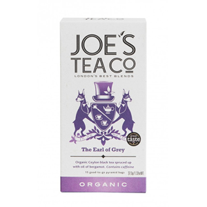 Joe´s Tea Co. Earl Grey BIO 15 pyramidek