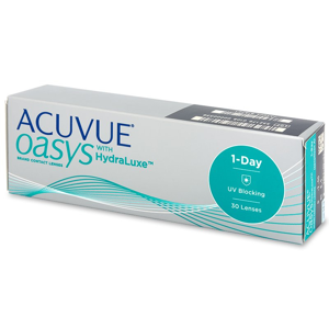 Johnson&Johnson Acuvue Oasys 1-Day with HydraLuxe 30 čoček -1,00