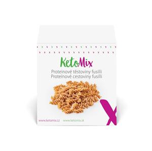 KetoMix Proteinové těstoviny fusilli (10 porcí)
