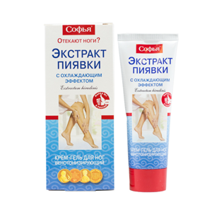 Korolev Farm Sofia -Gel s extraktem z pijavic - chladivý – 75 ml Balení: 200 ml