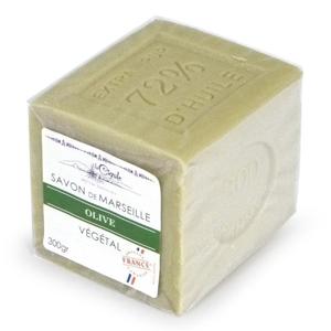 """La Cigale Marseillské mýdlo """"Cube"""" – Oliva 300 g"""