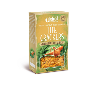 Lifefood Bio Life Crackers Zelňáky RAW 90g