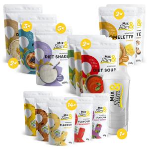Mix Slim Proteinová Dieta na 8 týdnů - 282 porcí