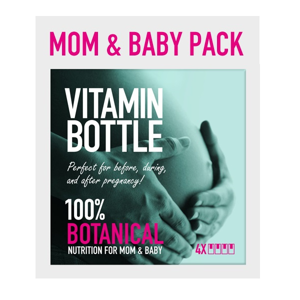 MOM & BABY PACK, 90 kapslí + 50 ml