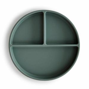 MUSHIE MUSHIOE - silikonový talíř s přísavkou - DRIED THYME