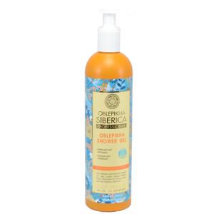 Natura Siberica- Rakytníkový sprchový gel, Intenzivní výživa a hydratace - 400ml