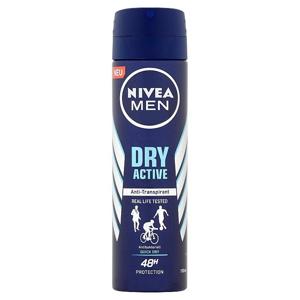 Nivea Men Dry Active antiperspirant ve spreji 150 ml