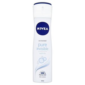 Nivea Pure Invisible antiperspirant ve spreji 150 ml