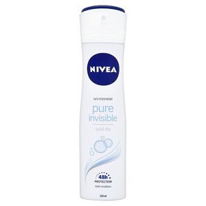 Nivea Pure Invisible antiperspirant ve spreji 150 ml