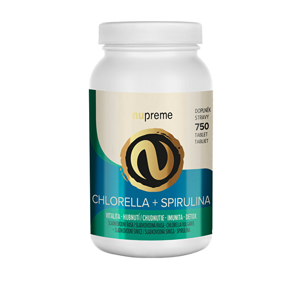 Nupreme Chlorella + Spirulina 750 tablet NUPREME