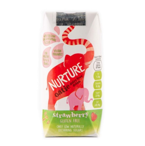Nurture Oatie Dairy Free Drink Strawberry 200 ml