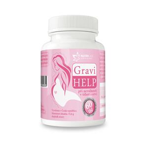 Nutricius GraviHELP - při nevolnosti v těhotenství 60 tbl. - SLEVA - KRÁTKÁ EXPIRACE - 14.4.2020